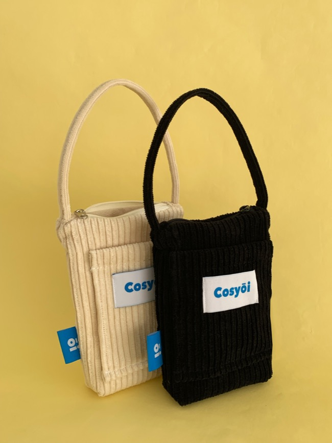 CORDUROY MINI TOTEBAG